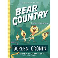 小鸡队#6 熊国 熊国是一个错误的冒险 The Chicken Squad #6 Bear Country Bearly