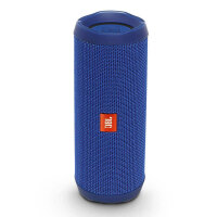 JBL Flip4 音乐万花筒4 动感蓝 蓝牙小音箱 音响 低音炮 便携迷你音响 音箱