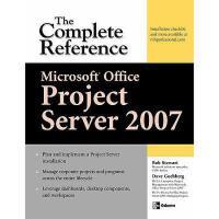 【预订】Microsoft Office Project Server 2007: The Complete