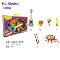 婴幼儿童拍拍鼓摇铃手敲鼓套装1-3-6岁2-5男女孩宝宝音乐早教玩具