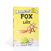 【全店300减100】英文原版进口狐狸迟到了 My first ICR Fox Is Late 分级阅读 6-9岁 平装