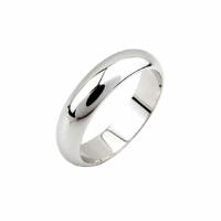 七度品尚简约光面 925纯银戒指男女情侣对戒尾戒小指环银镀白金戒子银饰品 15号 925纯银 白金色