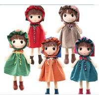 可爱菲儿布娃娃毛绒玩具公仔小女孩创意玩偶儿童生日礼物送女友