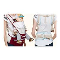 婴儿背带腰凳四季横抱透气款可拆式腰凳能宝宝坐凳儿童背带
