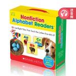 学乐出品 Scholastic Nonfiction Alphabet Readers 26册盒装 学乐字母启蒙教材常