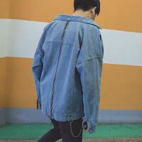 时尚夏季牛仔夹克外套2018新款男士韩版潮流薄款帅气衣服潮流