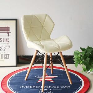 幽咸家居 电脑椅 时尚办公椅子 办公椅 椅伊姆斯咖啡休闲椅 简约风格餐椅 彩色椅子 雷达椅 儿童椅子