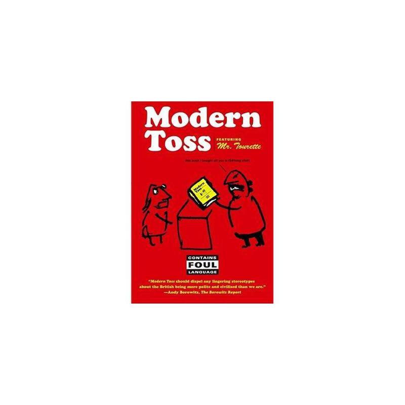 【预订】Modern Toss: Featuring Mr. Tourette 美国库房发货,通常付款后3-5周到货!