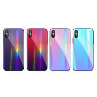 苹果x手机壳女款iPhonex6splus全包7p玻璃情侣6男女软边硅胶套