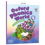 新版 oxford phonics world 4 Consonant Blends 牛津自然拼读法 正版保证 4级学