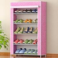 索尔诺 简易鞋橱 防潮防尘鞋柜 储物柜 收纳柜 收纳箱 收纳盒 简易时尚5层收纳柜 鞋架 鞋橱05C