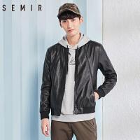 森马夹克男2018春季新款男士潮流帅气外套韩版个性青年男装上衣