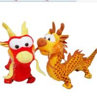 毛绒玩具龙 龙年本命年吉祥物礼品生肖龙公仔中国龙玩具 家居礼物