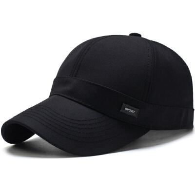 男士帽子春秋棒球帽户外冬季运动鸭舌帽子男春秋潮休闲太阳帽