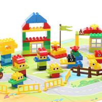 儿童早教益智宝宝玩具拼装积木塑料拼插大颗粒积木