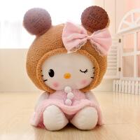 猫玩偶饼干猫毛绒玩具公仔凯蒂猫玩具新年礼物