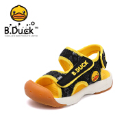 【2件25折:94.75元】B.Duck小黄鸭童鞋男童包头凉鞋2021夏季儿童沙滩凉鞋宝宝机能凉鞋B2185012