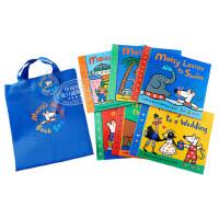 【中商原版】Maisy's Holiday Book Bag 英文原版 小鼠波波系列故事套装6册 赠环保袋1个