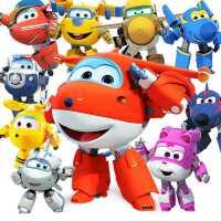 奥迪双钻超级飞侠玩具套装全套乐迪小爱变形机器人金刚雪儿童男孩