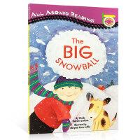 英文原版 Christmas 圣诞绘本 All Aboard Reading 大雪球汪培�E私房书儿童绘本一阶段新年趣味