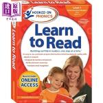 【中商原版】迷上语音系列:学与读学前级L1(新版) Hooked on Phonics Learn to Read P