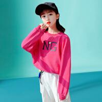 木木屋女童春装套装2021新款洋气网红童装中大童女孩春秋时髦运动两件套