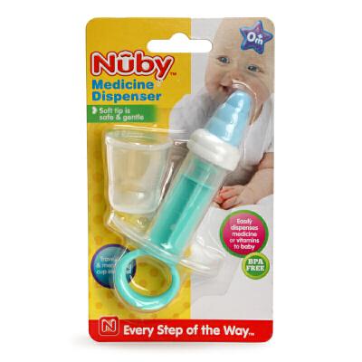 美国NUBY 努比 婴幼儿针筒注射喂药器宝宝婴儿喂药器