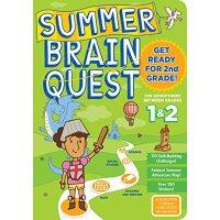 Summer Brain Quest: Between Grades 1 & 2 少儿智力开发系列:暑期练习册1-2年
