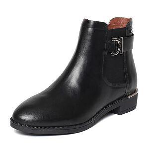 【百丽集团夏季大促,5.28准时开抢】Belle/百丽冬专柜同款油皮牛皮女短靴BMT40DD6