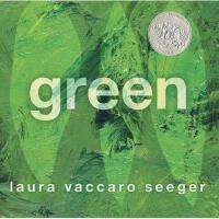 英文原版 Green 绿色(2013年凯迪克银奖绘本,精装)