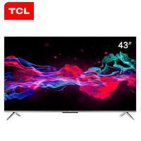 TCL 43V8 43英寸智能�W�j液晶平板���C 4K超高清 超薄金��C身 全面屏人工智能�Z音 8K解�a 43v8