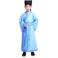 儿童古装汉服男童幼儿书童国学三字经弟子规演出表演服装