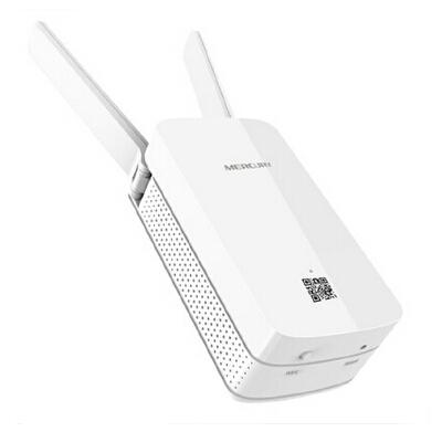 水星 MW300RE wifi信号放大器中继器 300M家用无线路由器穿墙王增强迷你接收器双天线ap