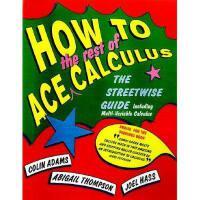 【预订】How to Ace Calculus: The Streetwise Guide
