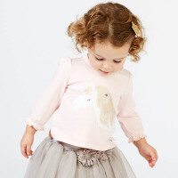 davebella戴维贝拉2018春季新款套装 女宝宝休闲套装DBJ7640