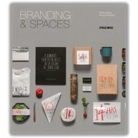 Branding & Spaces 品牌空间 logo在空间的运用 品牌形象 视觉传达 平面设计书籍 英文原版