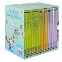【全店300减100】我的第一个图书馆 英文原版绘本 My First Reading Library 50册礼盒装 U