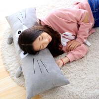 可爱睡觉抱枕公仔毛绒玩具娃娃女生大号可拆洗床头垫长条枕头