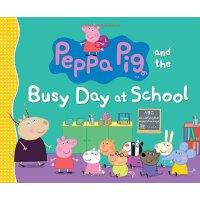 粉红猪小妹:在学校忙碌的一天【现货】英文原版童书Peppa Pig and the Busy Day at School小猪佩奇
