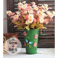 创意家居装饰花绢花餐桌客厅茶几摆设桌面花艺摆件仿真花干花套装