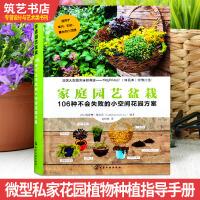 家庭园艺盆栽 微型私家花园植物种植指导手册 法国专家编辑 阳台屋顶入户花园景观设计书籍