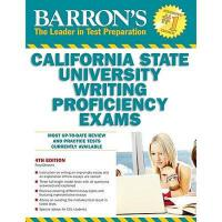 【预订】Barron's California State University Writing
