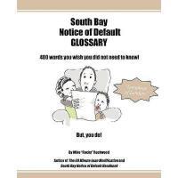 【预订】Glossary: Notice of Default & Foreclosure Survival