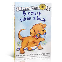 英文原版 Biscuit Takes a Walk (My First I Can Read Biscuit)英文少儿书