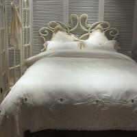 欧式蕾丝天丝四件套 浪漫法式蕾丝公主风床上用品样板房婚庆套件 安娜贝尔