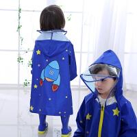儿童雨披男童女童小学生雨衣宝宝雨衣大檐帽婴幼儿园小孩雨衣