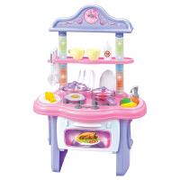 儿童厨房玩具套装宝宝炒菜女孩女童玩具3-5岁仿真厨具煮饭做饭