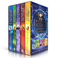 英文原版 Percy Jackson pbk 5-book boxed set 波西杰克逊1-5盒装 流行小说