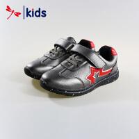 红蜻蜓童鞋男童小中大童泼墨大底舒适防滑运动鞋