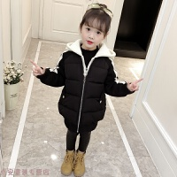 冬季女童棉衣秋冬装2018新款韩版儿童洋气羽绒棉袄加厚外套面包服秋冬新款